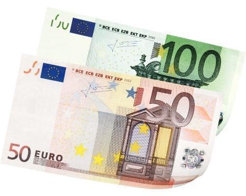 150 € Gutschein (wird mit den Kursgebühren verrechnet)