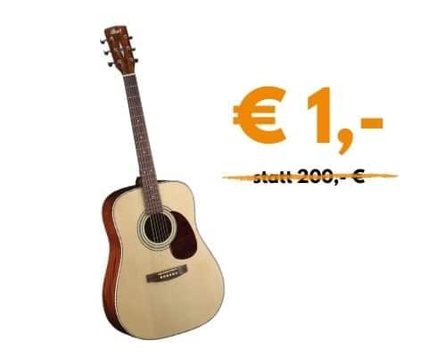 Akustikgitarre / Westerngitarre Earth 70 OP für € 1,-